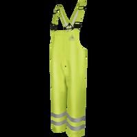 Men's FR Hi-Visibility Rain Bib Overalls