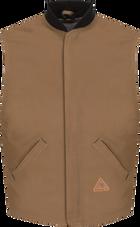 Men's Heavyweight FR Brown Duck Vest Jacket Liner