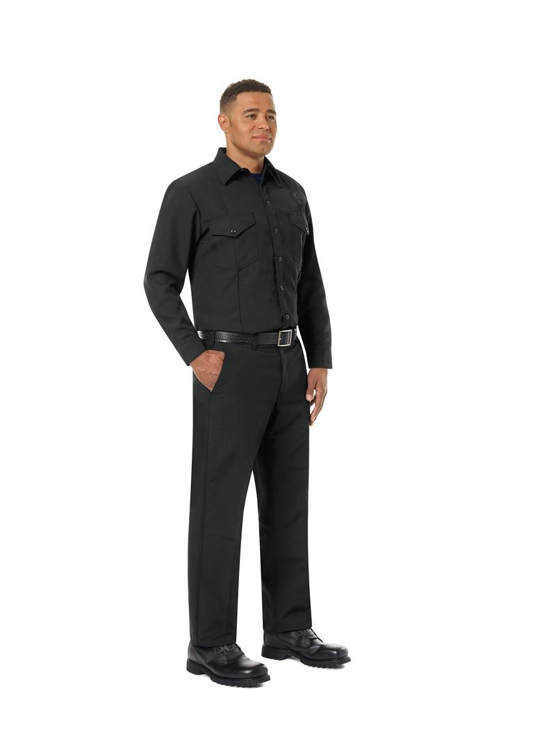 Men's Classic Long Sleeve Firefighter Shirt
