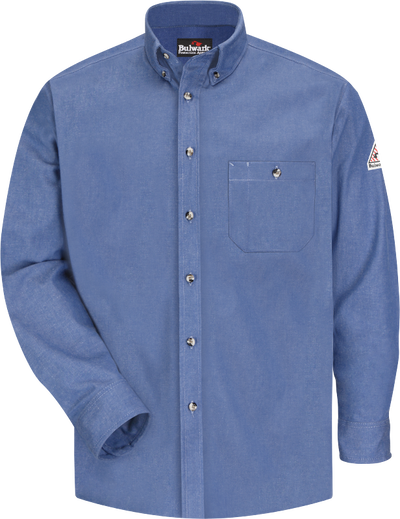 Men's Midweight FR Denim Dress Shirt