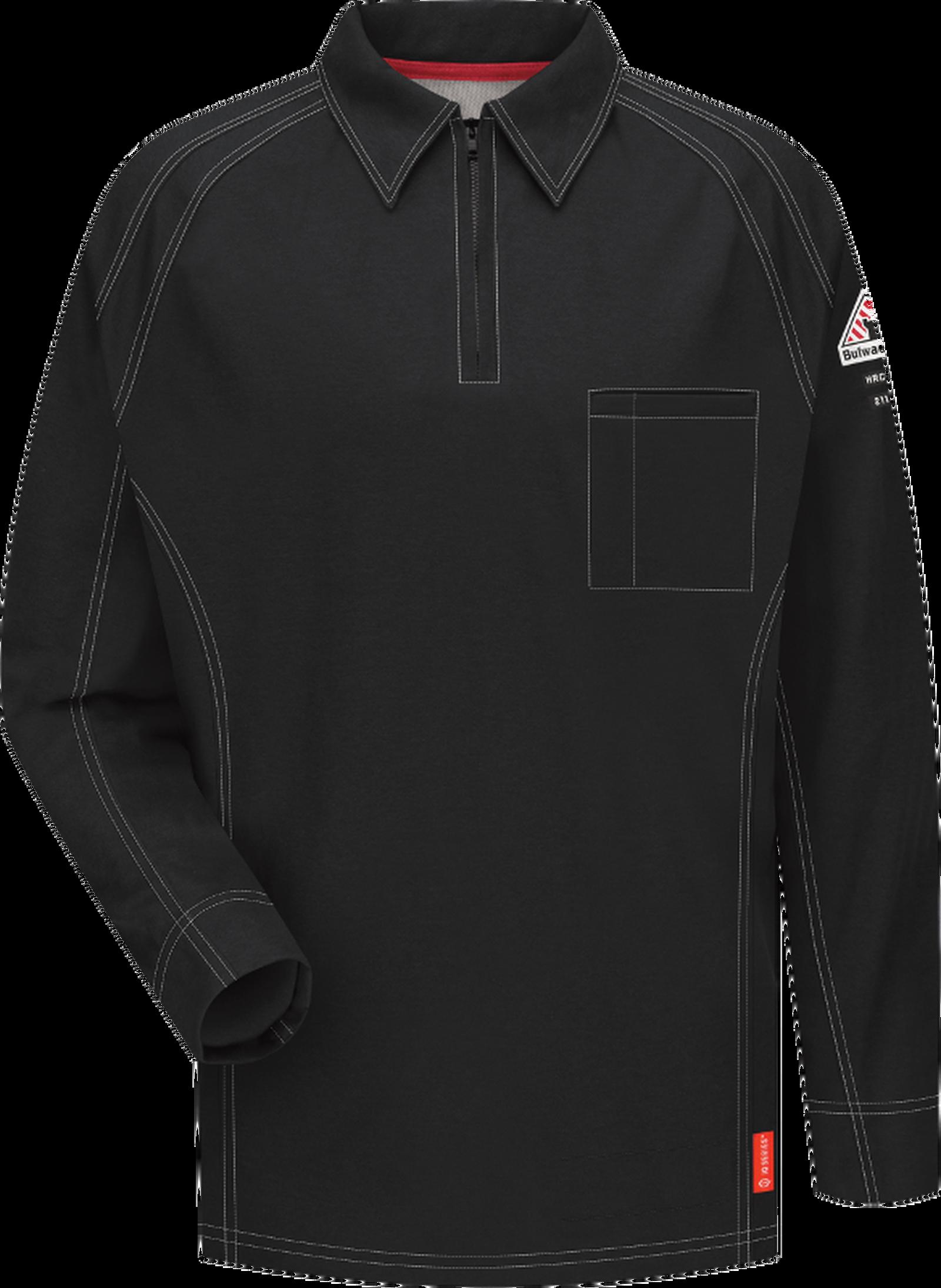 iQ Series® Comfort Knit Men's FR Long Sleeve Polo