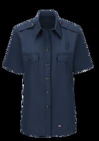 Women's Short Sleeve Classic Fire Chief Shirt