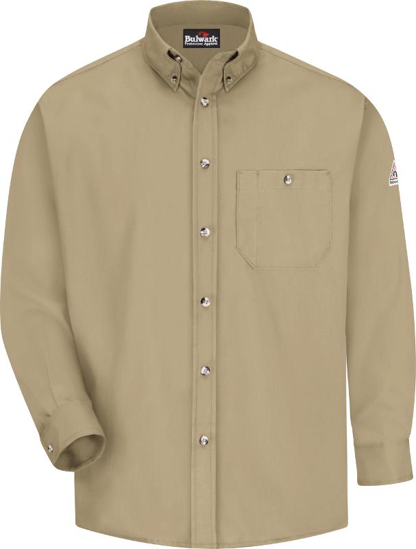 Bulwark 42 X 37 Dark Denim Cotton Denim Excel FR Flame Resistant Denim Jeans With Button Closure
