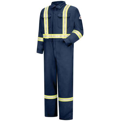Men's Midweight Nomex FR Premium Coverall with CSA Compliant Reflective Trim