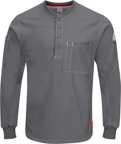 iQ Series® Comfort Plus Knit Men's FR Henley