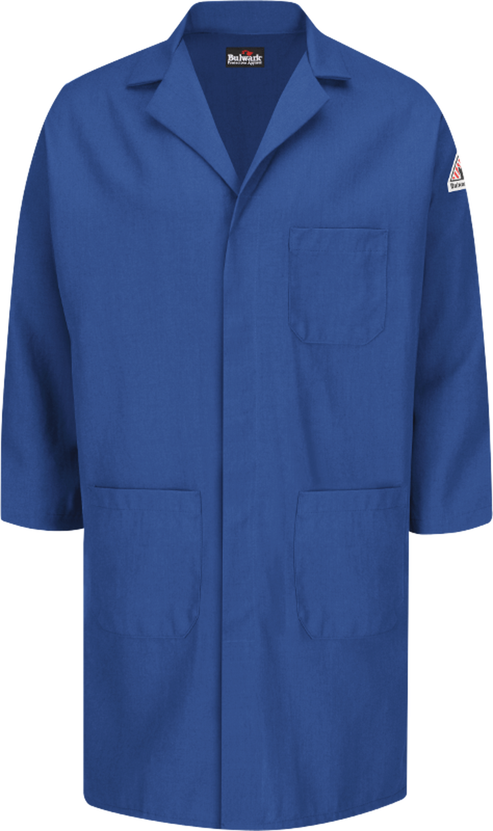 Nomex FR Concealed Snap-Front Lab Coat