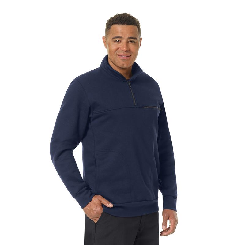 Men's 1/4 Zip Job Shirt