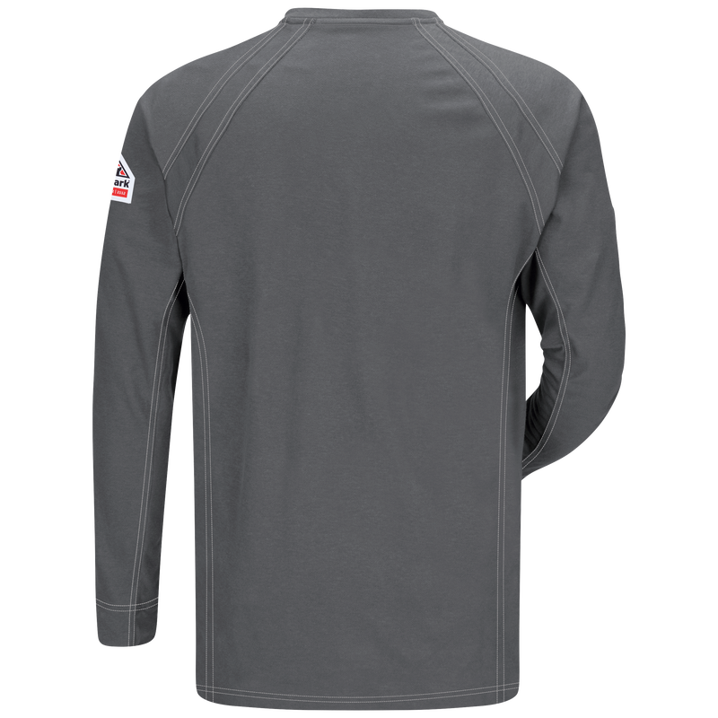 iQ Series® Men's Comfort Knit Long Sleeve Henley with Insect Shield