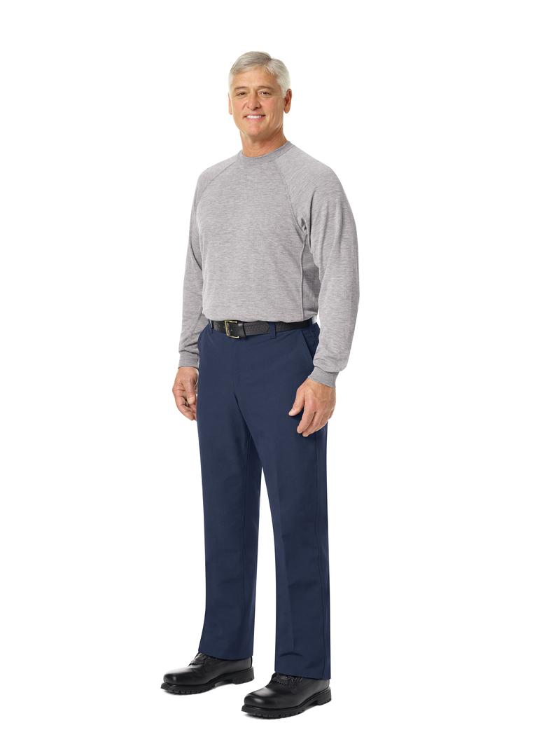 Men's Long Sleeve Station Wear Tee (Athletic Style)
