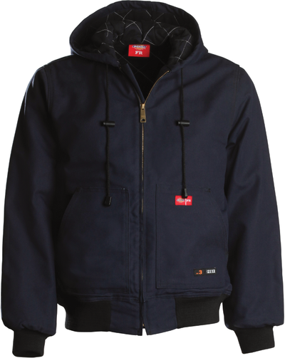 Heavyweight Cotton Duck Hooded Jacket