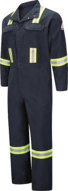 Men's Midweight Nomex FR Premium Coverall with Reflective Trim