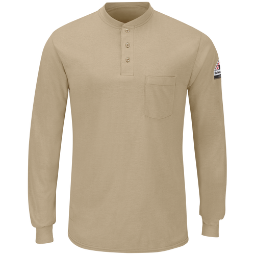 Men's Long Sleeve Lightweight Henley Shirt