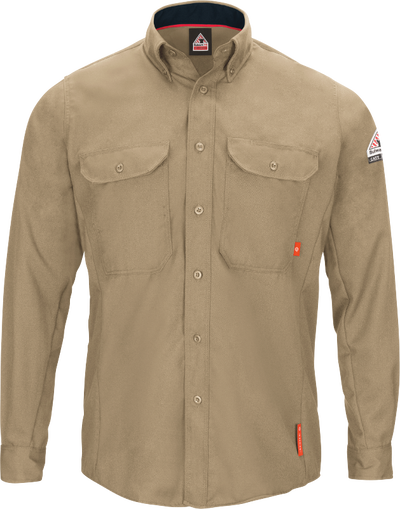 Men's iQ Series® Comfort Woven Long Sleeve Lightweight Shirt