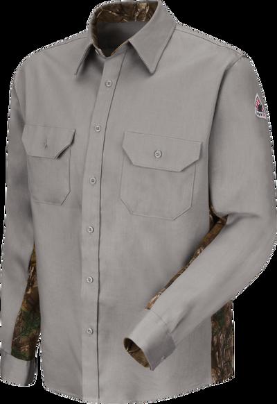 Men's Lightweight FR Camo Uniform Shirt