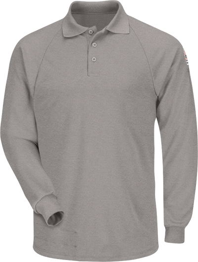 Men's Classic Lightweight FR Long Sleeve Polo