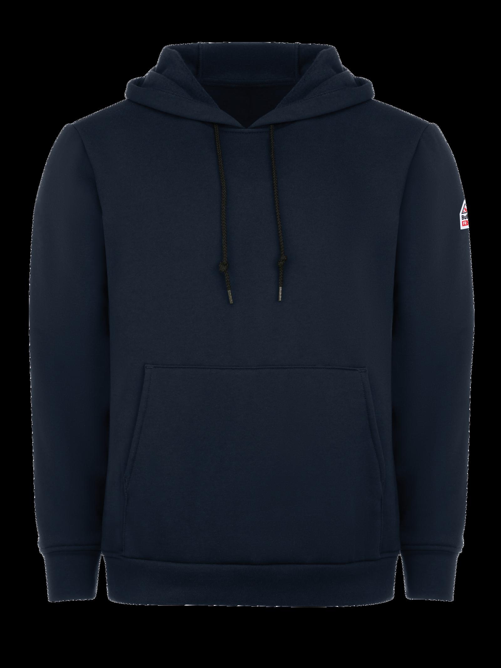 Bulwark FR Mens Thermal Lined Zip-Front Hooded Sweatshirt