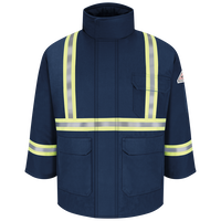 Men's Heavyweight Excel FR® ComforTouch® Insulated Deluxe Parka with Reflective Trim