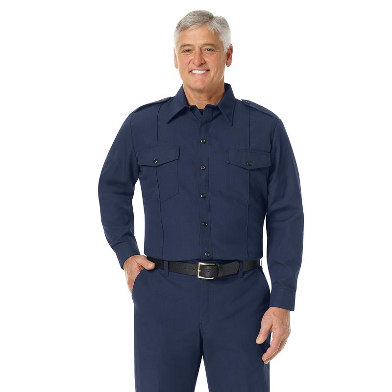 Men's Classic Long Sleeve Fire Chief Shirt