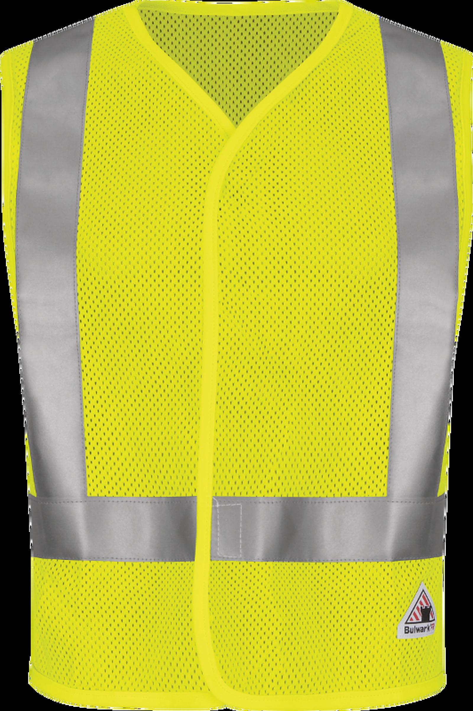 Men's FR Hi-Visibility Mesh Safety Vest