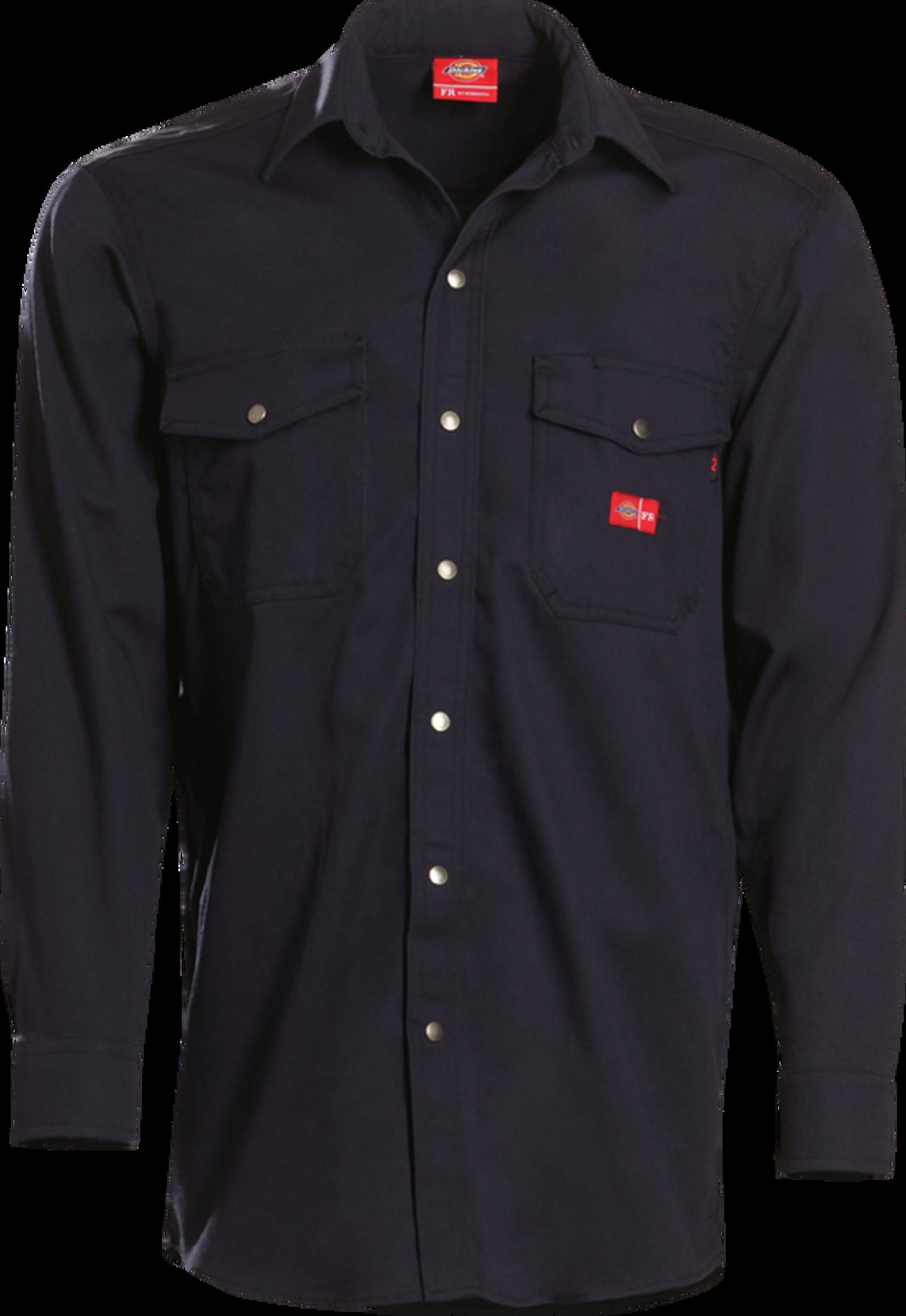 Men's Midweight FR Button-Down Work Shirt