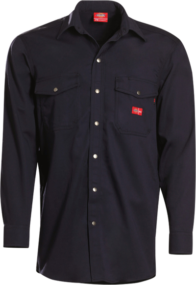 Men's Midweight FR Button-Down Work Shirt