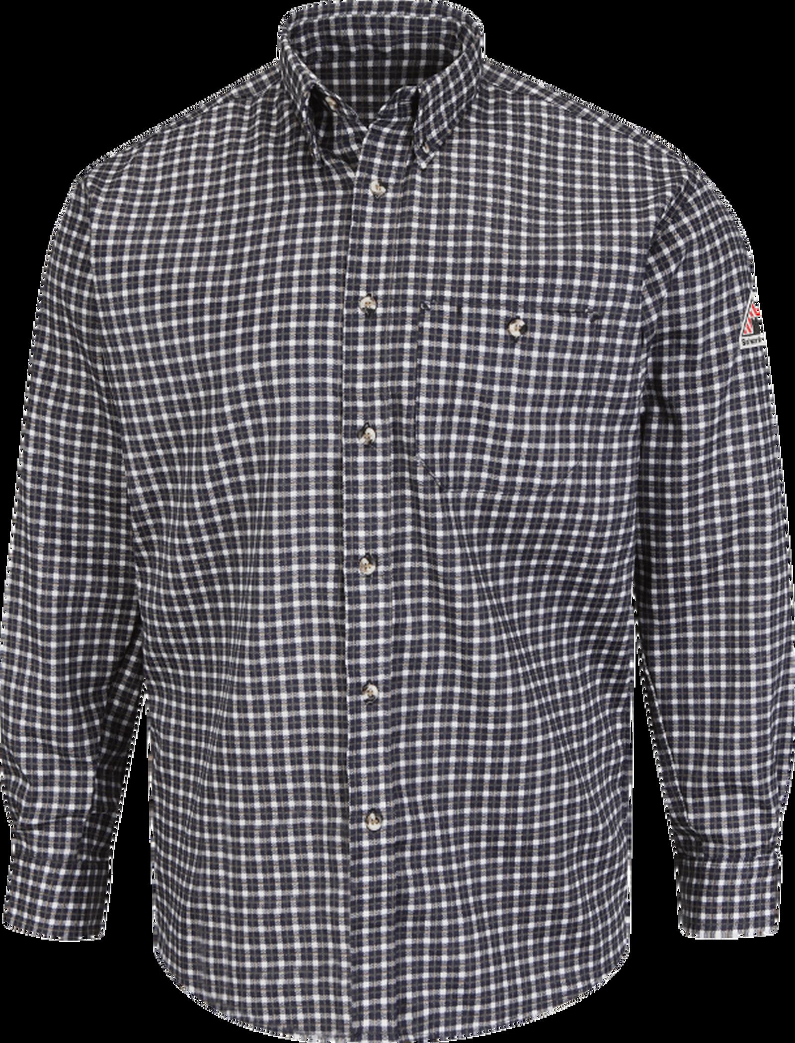Men's Lightweight Excel FR Plaid Dress Shirt