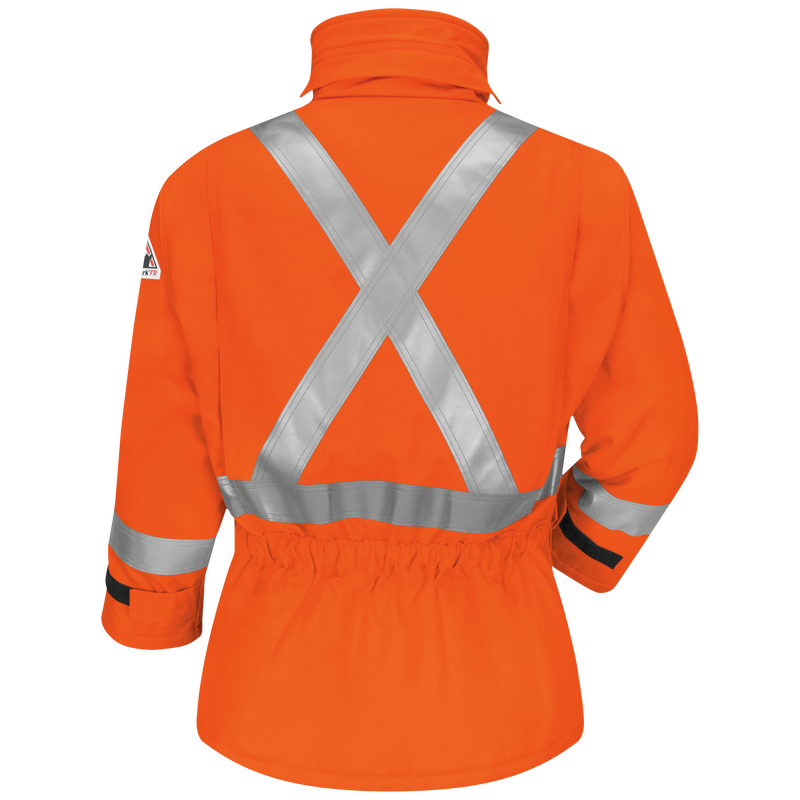 Men's Heavyweight FR Insulated Deluxe Parka with CSA Compliant Reflective Trim