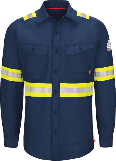 iQ Series® Endurance Men's FR Enhanced Visibility Work Shirt