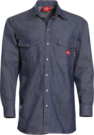 Men's Midweight Denim FR Snap-Front Shirt