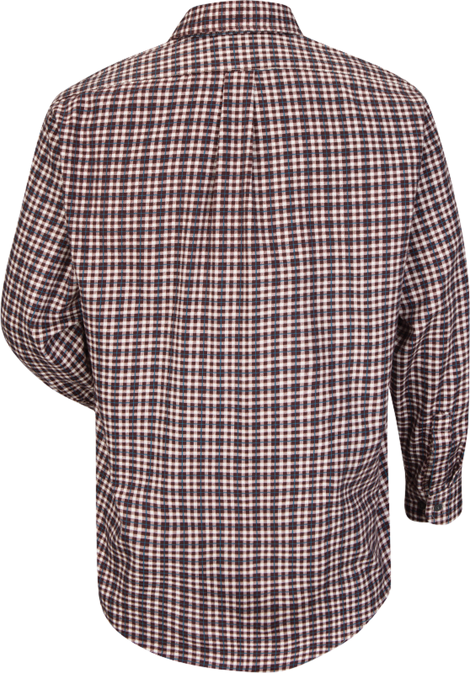 Men's Lightweight FR Plaid Uniform Shirt
