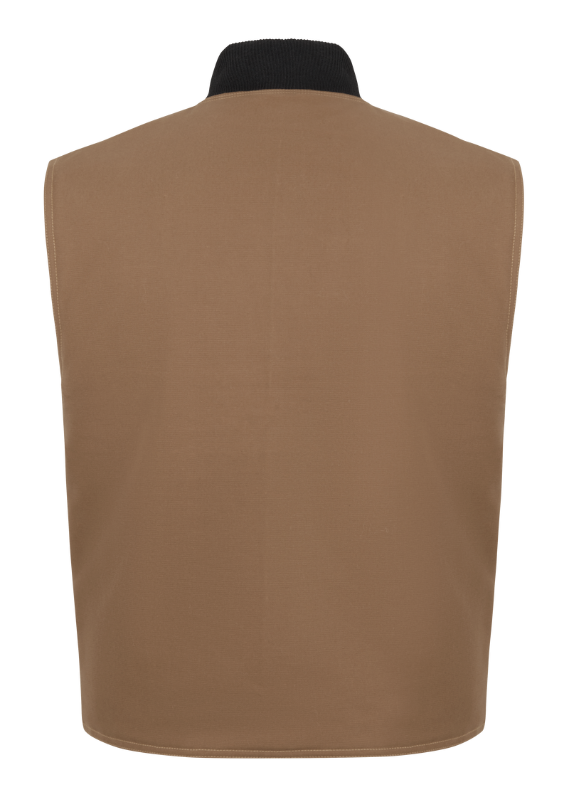 Brown Duck Vest Jacket Liner