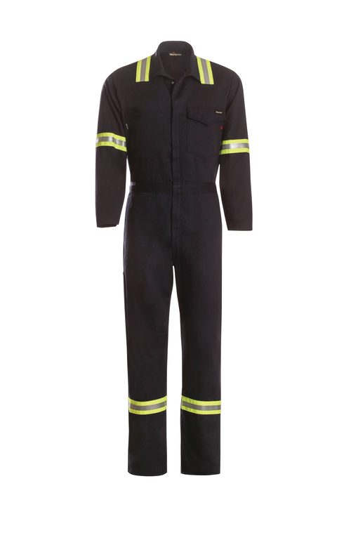 Work Coverall with Tape