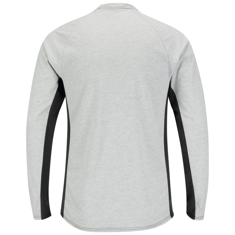 Men's FR Long Sleeve Base Layer with Concealed Chest Pocket