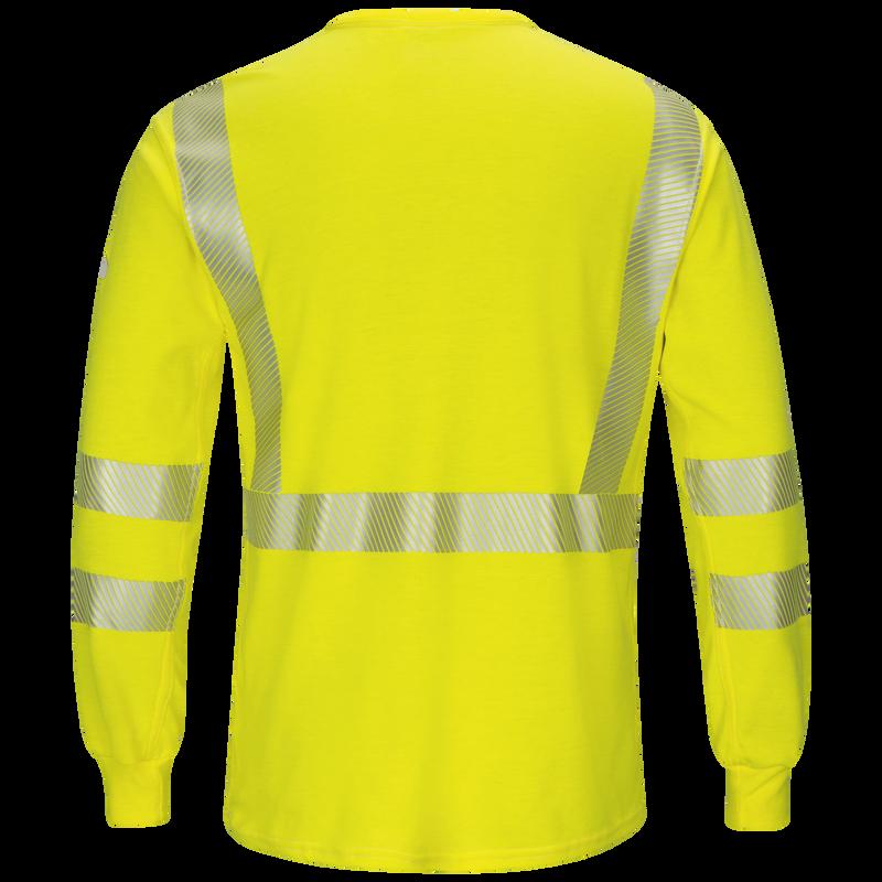 Men's Lightweight FR Hi-Visibility Long Sleeve T-Shirt