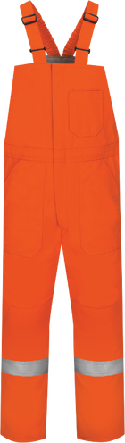 Men's Midweight Excel FR® ComforTouch® Deluxe Insulated Bib Overall with Reflective Trim