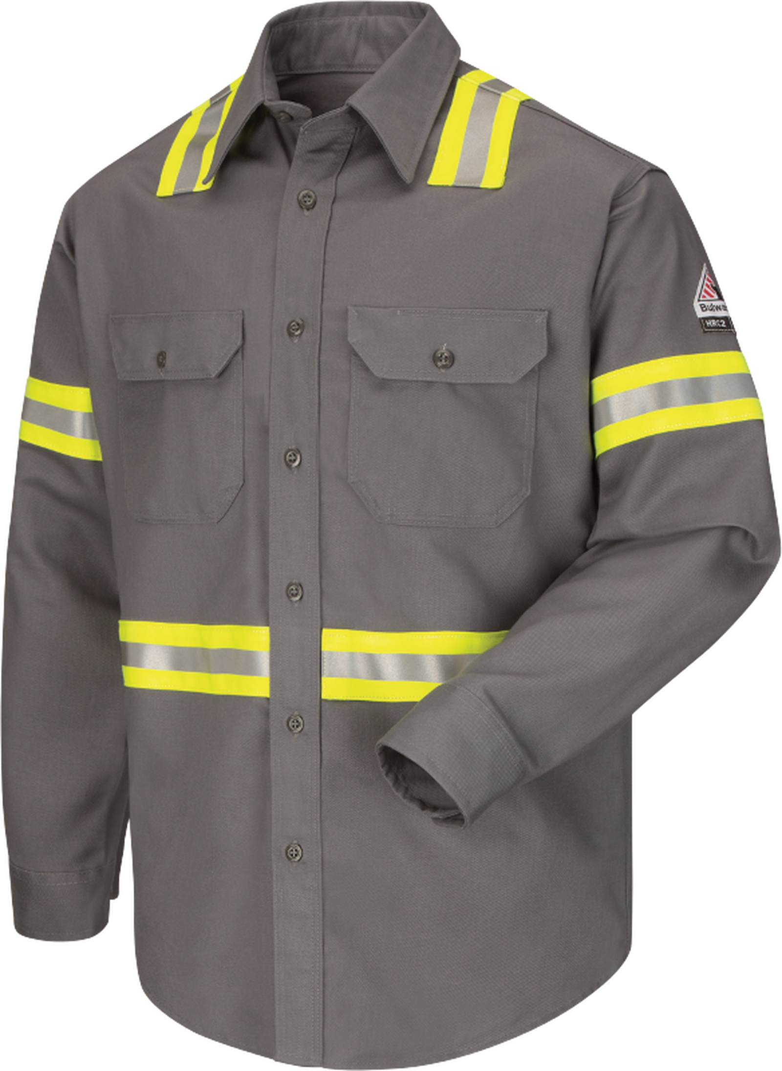 Men's Midweight FR Enhanced Visibility Uniform Shirt