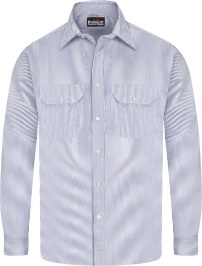 Men's Midweight FR Striped Uniform Shirt