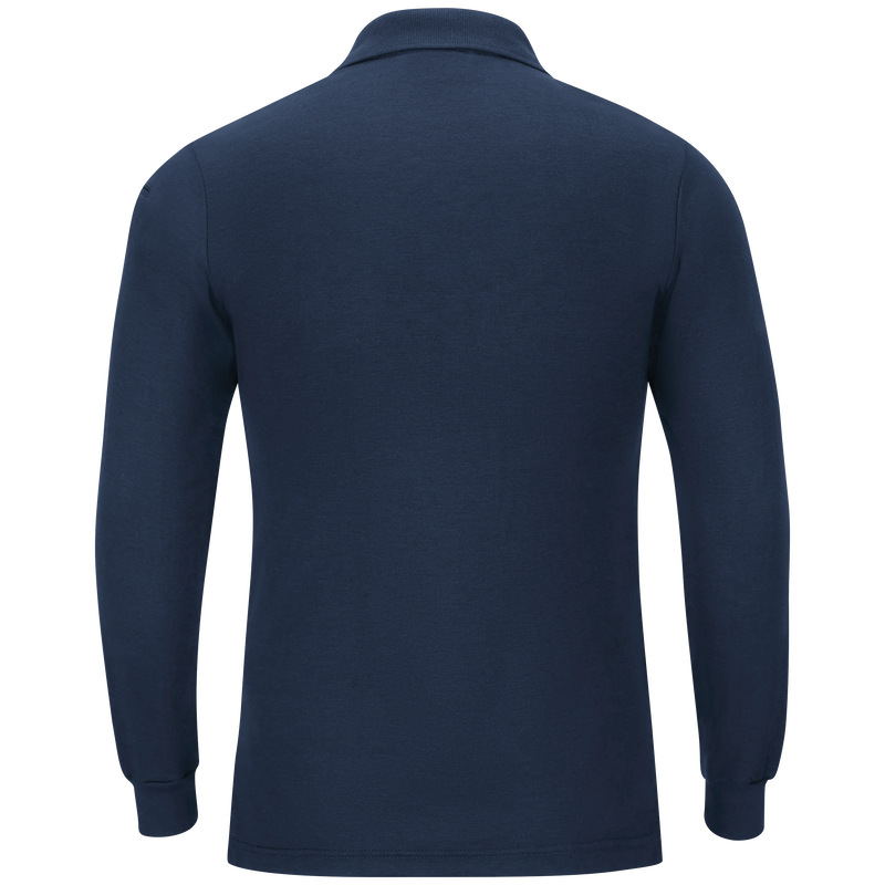 Men's Long Sleeve Station Wear Polo Shirt