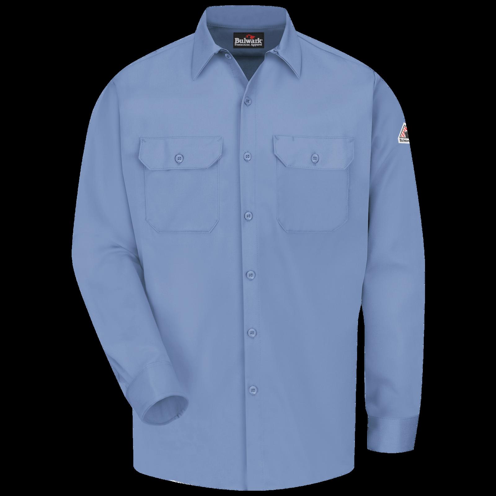 Bulwark Mens Enhanced Vis Uniform Shirt-Excel Fr-Big//Tall