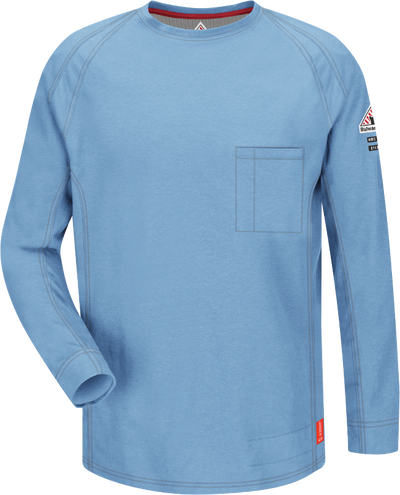 iQ Series® Comfort Knit Men's FR Long Sleeve T-Shirt
