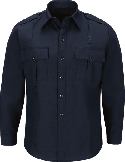 Men's Classic Long Sleeve Fire Officer Shirt