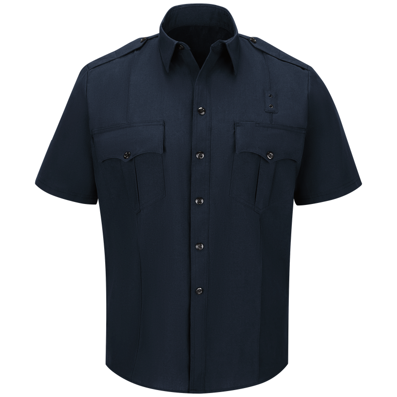 Men's Classic Short Sleeve Fire Officer Shirt
