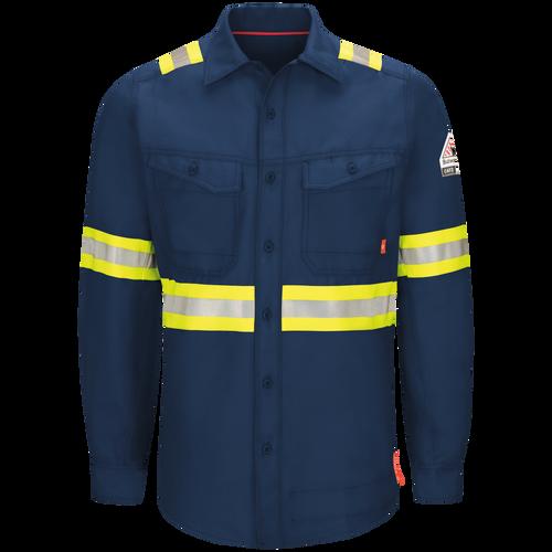 iQ Series® Endurance Men's FR Enhanced Visibility Work Shirt
