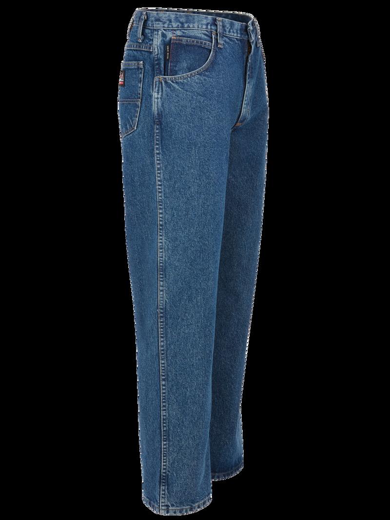 Men's Loose FR Stonewashed Jean