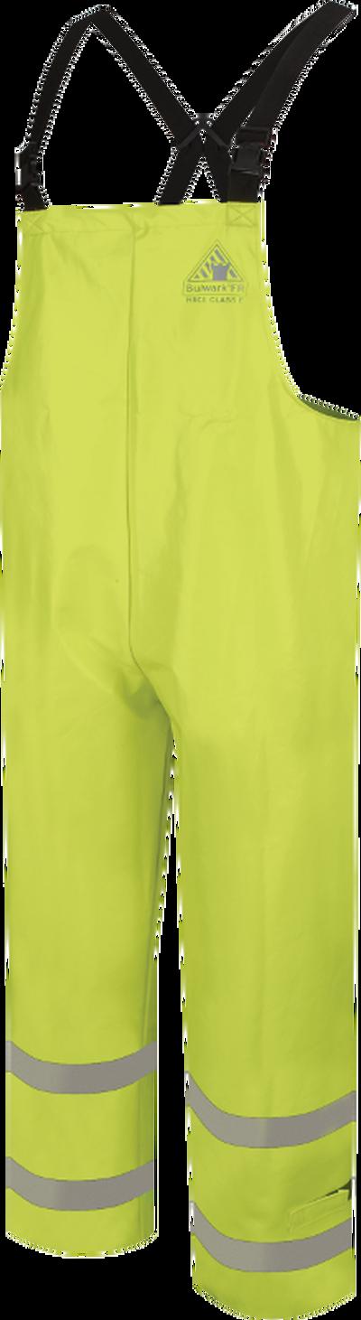 Men's FR Hi-Visibility Waterproof  Bib Overalls