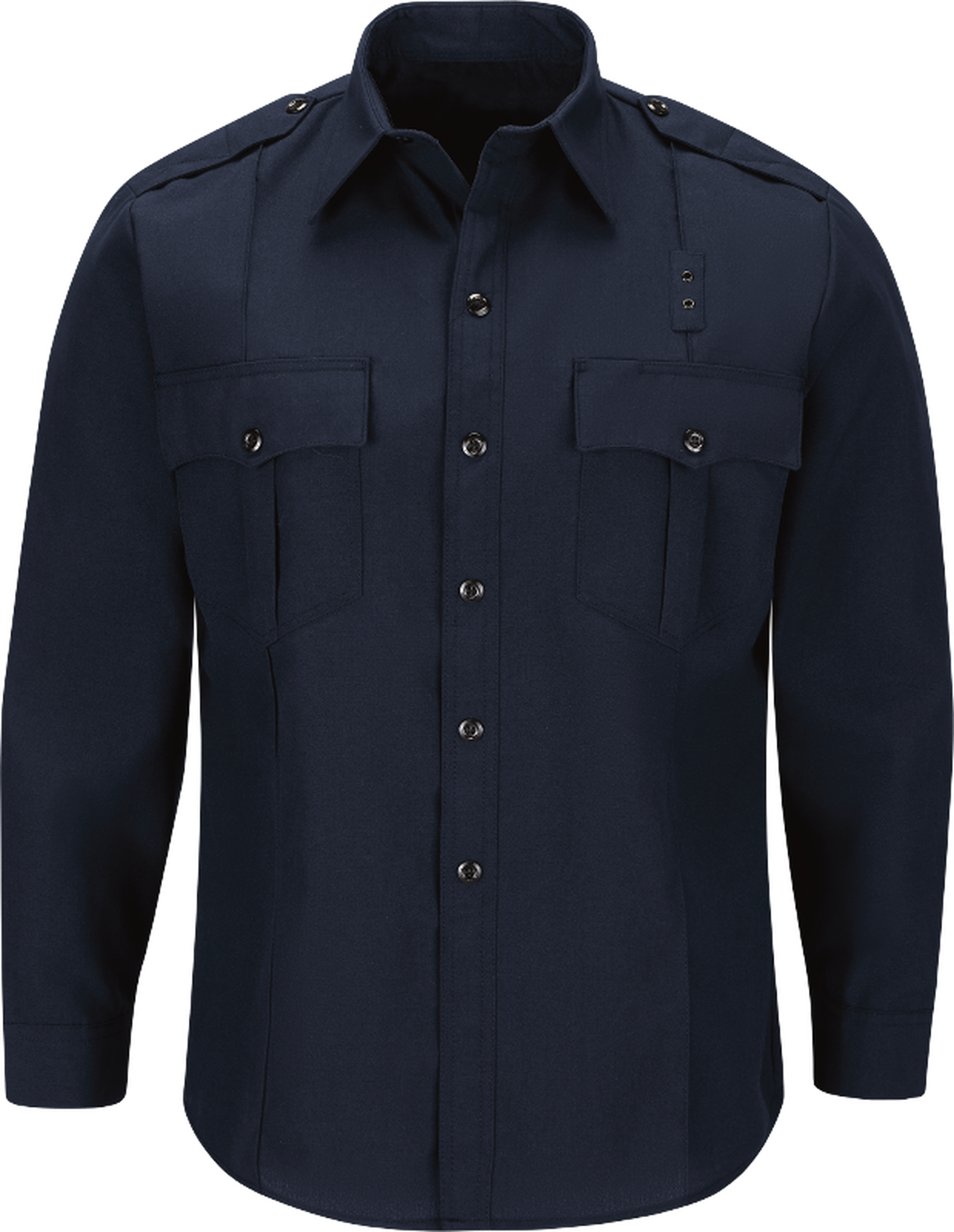 Men's Classic Long Sleeve Fire Officer Shirt