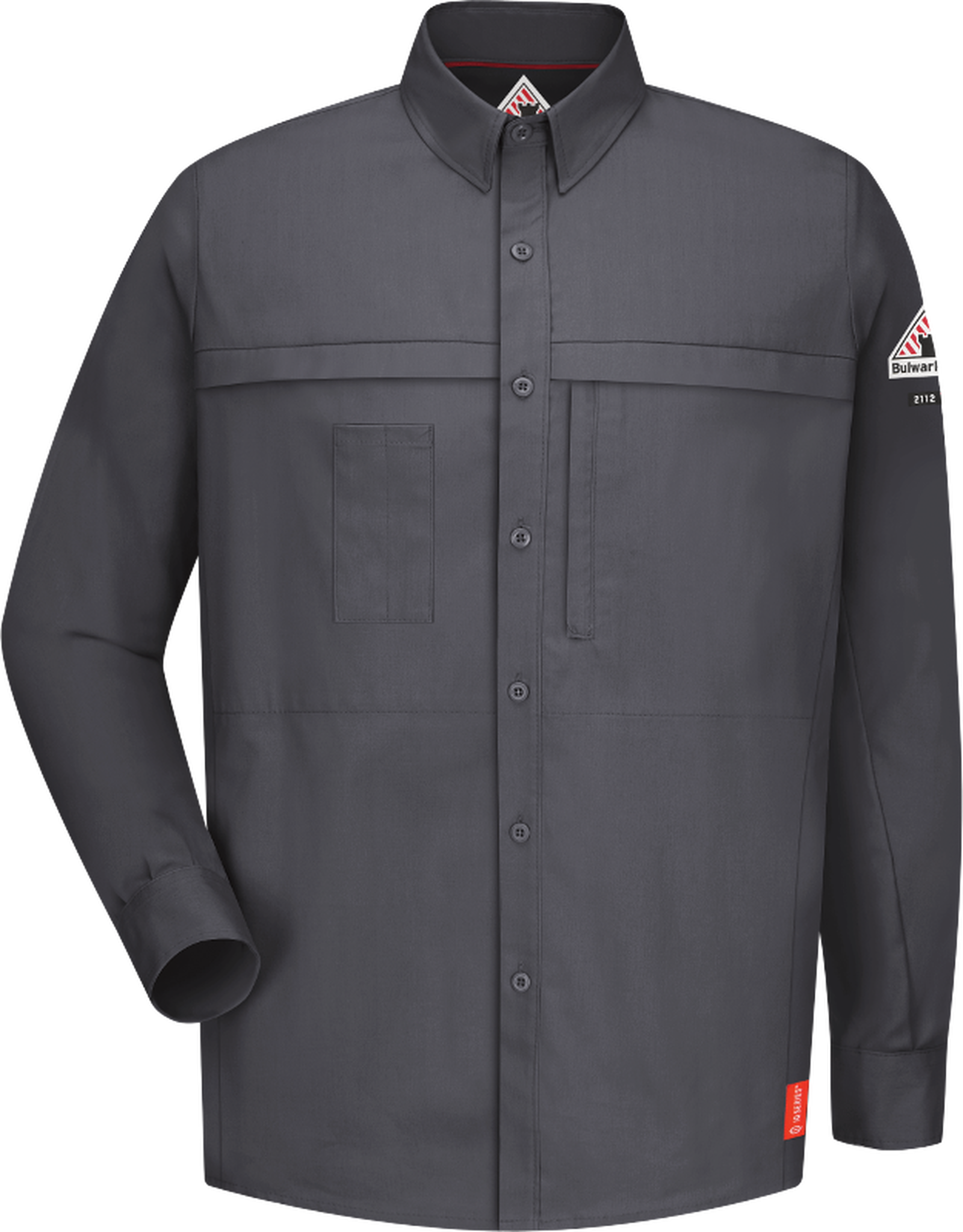iQ Series Comfort Woven Concealed Pocket Men's Shirt