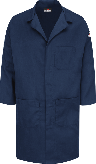 FR Concealed Snap-Front Lab Coat