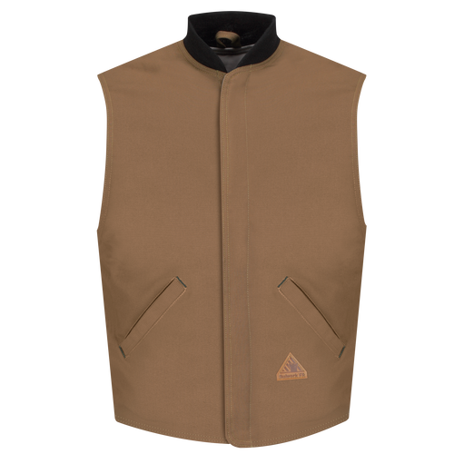 Men's Heavyweight FR Brown Duck Vest Jacket Liner