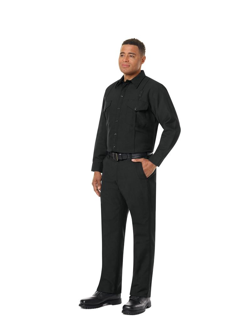 Men's Classic Long Sleeve Western Firefighter Shirt